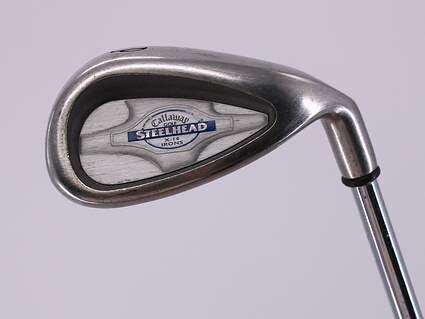 Callaway X-14 Single Iron Pitching Wedge PW Callaway Stock Steel Steel Stiff Right Handed 35.5in