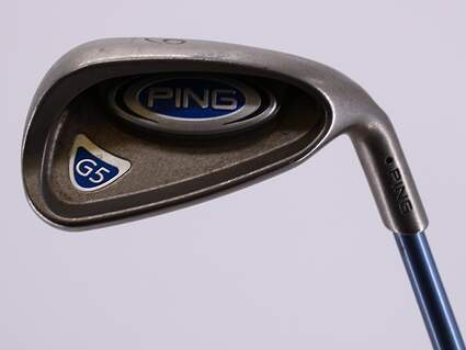 Ping G5 Single Iron 9 Iron Ping TFC 100I Graphite Ladies Right Handed Black Dot 36.0in