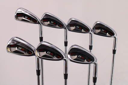 Ping G410 Iron Set 4-PW AWT 2.0 Steel Stiff Right Handed Orange Dot 38.75in