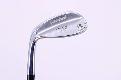 Cleveland 588 RTX 2.0 Tour Satin Wedge Sand SW 56° True Temper Dynamic Gold Steel Wedge Flex Left Handed 35.75in