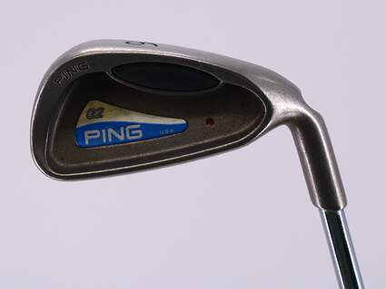 Ping G2 Single Iron 6 Iron Stock Steel Shaft Steel Regular Right Handed Red dot 37.0in