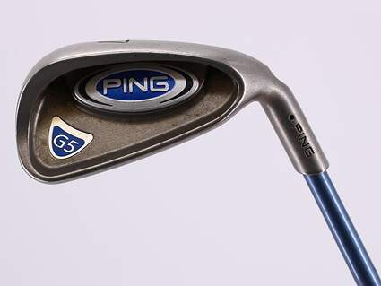 Ping G5 Single Iron 7 Iron Ping TFC 100I Graphite Ladies Right Handed Black Dot 36.75in