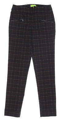 New Womens Swing Control Dover Pants 4 Multi MSRP $130 B5007SW