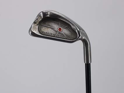 Ping ISI Single Iron 6 Iron Stock Graphite Shaft Graphite Regular Right Handed Red dot 37.5in