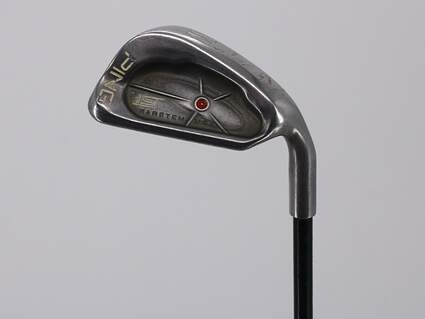 Ping ISI Single Iron Pitching Wedge PW Stock Graphite Shaft Graphite Regular Right Handed Red dot 35.75in