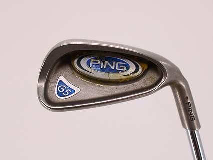Ping G5 Single Iron 7 Iron Stock Steel Shaft Steel Regular Right Handed Maroon Dot 38.0in