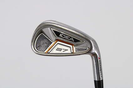 Adams Idea A7 Single Iron 7 Iron True Temper Player Lite Steel Stiff Right Handed 37.5in