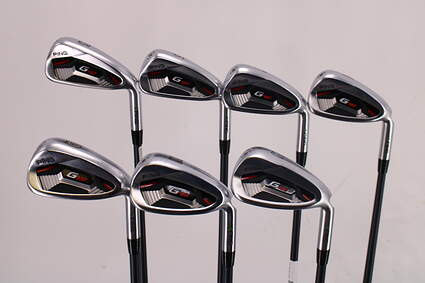 Ping G410 Iron Set 5-PW GW ALTA CB Red Graphite Senior Right Handed Green Dot 39.0in