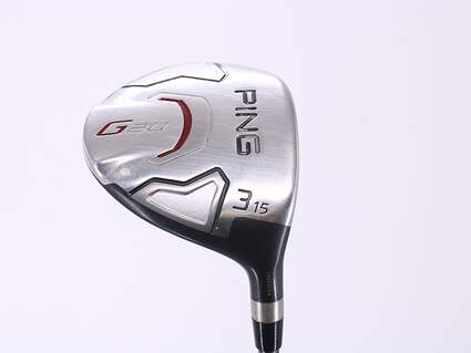 Ping G20 Fairway Wood 3 Wood 3W 15° Stock Graphite Shaft Graphite Regular Right Handed 43.25in