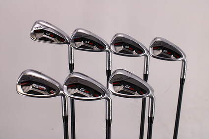 Ping G410 Iron Set 6-PW GW SW ALTA CB Red Graphite Regular Right Handed Black Dot 38.75in