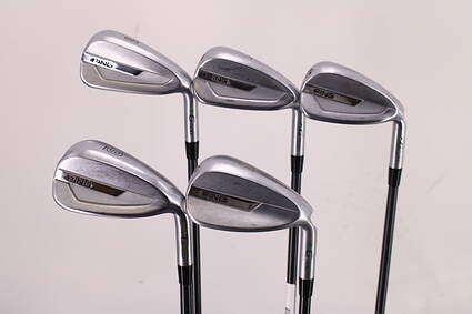 Ping G700 Iron Set 6-PW Ping TFC 80i Graphite Ladies Right Handed Green Dot 37.75in