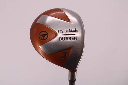TaylorMade 1998 Burner Fairway Wood 3 Wood 3W 15° TM S-90 Graphite Stiff Right Handed 43.0in
