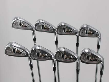 TaylorMade 2009 Tour Preferred Iron Set 3-PW True Temper Dynamic Gold S300 Steel Stiff Right Handed 37.75in