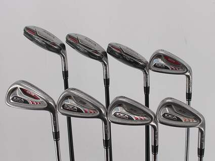 Adams Idea A3 Iron Set 3H 4H 5H 6-PW True Temper Player Lite Steel Regular Right Handed 37.75in