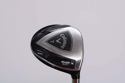 Callaway Razr X Black Fairway Wood 7 Wood 7W Callaway Stock Graphite Graphite Ladies Right Handed 41.0in