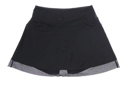 New Womens Cutter & Buck Annika Skort Medium M Black MSRP $82 LAB07030
