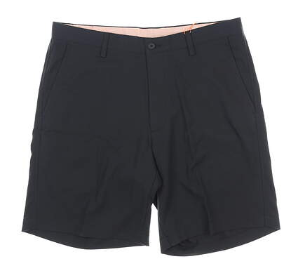 New Mens Fennec Flat Front Golf Shorts 40 Black MSRP $85 000F600