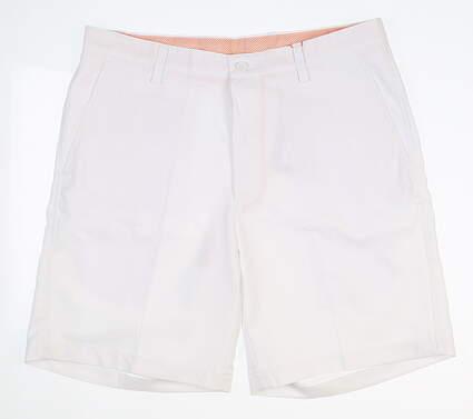 New Mens Fennec Flat Front Golf Shorts 34 Khaki MSRP $85 000F600