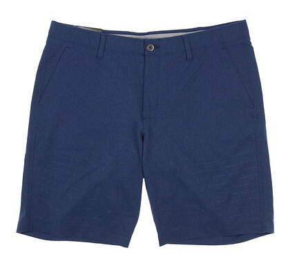 New Mens Under Armour Golf Shorts 40 Blue MSRP $70