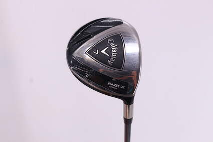 Callaway Razr X Black Fairway Wood 7 Wood 7W 21° Callaway 50 Gram Graphite Ladies Right Handed 41.25in