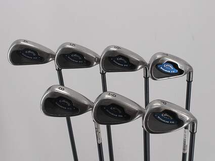Callaway X-16 Iron Set 4-PW Callaway Stock Graphite Graphite Senior Right Handed 37.75in
