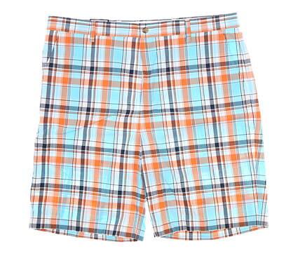 New Mens Footjoy Madras Golf Shorts 40 Multi MSRP $85 24048