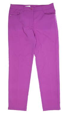 New Womens Nivo Sport Golf Pants 8 Purple MSRP $90