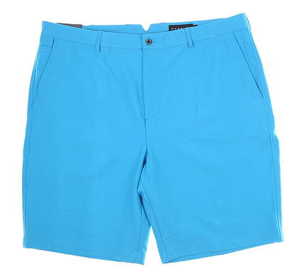 New Mens Dunning Golf Shorts 40 Blue MSRP $80 D7S13H055