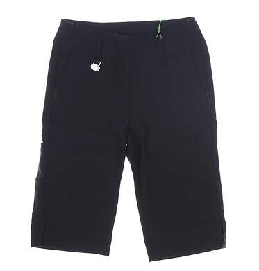 New Womens Daily Sports Golf Shorts 6 Black MSRP $99