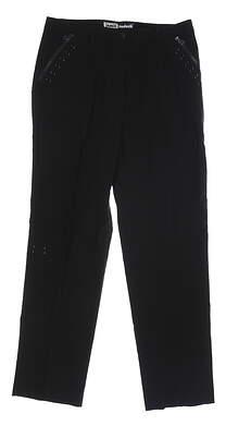 New Womens Jamie Sadock Pants 10 Black MSRP $80