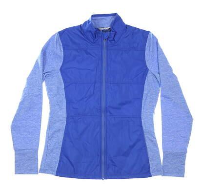 New Womens Cutter & Buck Golf Jacket Medium M Blue MSRP $115 LCK00042