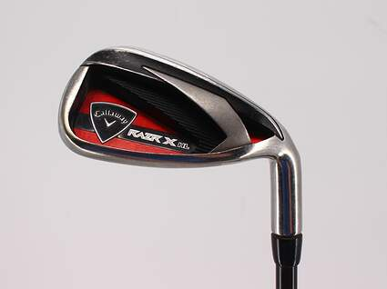 Callaway Razr X HL Single Iron Pitching Wedge PW Callaway Stock Graphite Graphite Regular Right Handed 35.5in