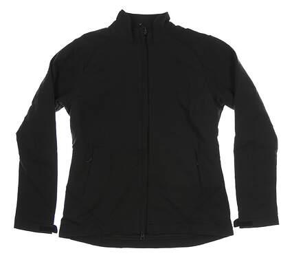 New Womens Cutter & Buck Golf Jacket Medium M Black MSRP $115 LCO01213
