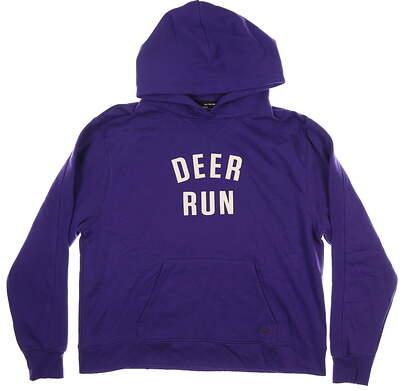 New W/ Logo Womens Under Armour Hoodie X-Large XL Purple MSRP $55 UW5106