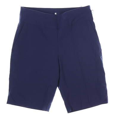 New Womens BETTE & COURT Golf Shorts 8 Navy Blue MSRP $85 BE021035