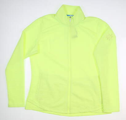 New W/ Logo Womens Adidas Essential Layer X-Large XL Yellow MSRP $74 DQ0508