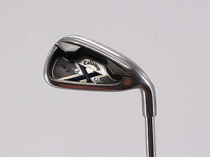 Callaway X-20 Single Iron 6 Iron Project X 6.0 Steel Stiff Right Handed 37.75in