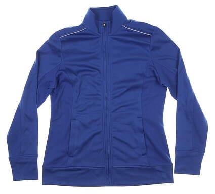 New Womens Cutter & Buck Golf Jacket Medium M Blue MSRP $75 LCK02571