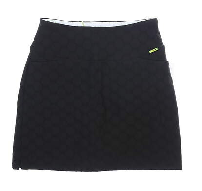 New Womens Swing Control Golf Skort 8 Black MSRP $89 M1030SW