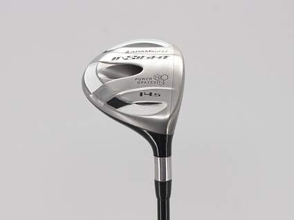 Adams Insight BTY Fairway Wood 3 Wood 3W 14.5° Harrison Star Plus Graphite Shaft Senior Right Handed 43.0in