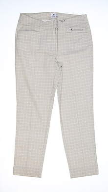 New Womens Daily Sports Prizzie High Water Pants 8 Khaki MSRP $135 843/235