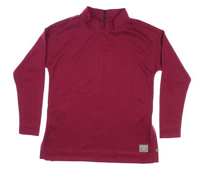 New W/ Logo Womens Level Wear The Chase Pullover Large L Pink MSRP $65 XA00L