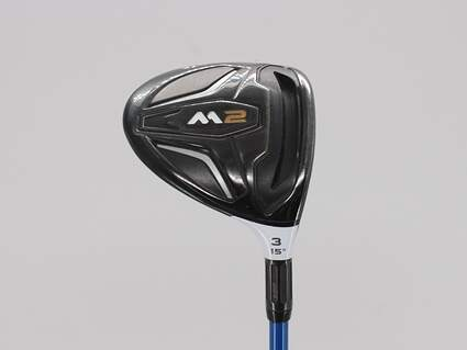 TaylorMade 2016 M2 Fairway Wood 3 Wood 3W 15° Graphite Design Tour AD BB-7 Graphite X-Stiff Right Handed 43.0in