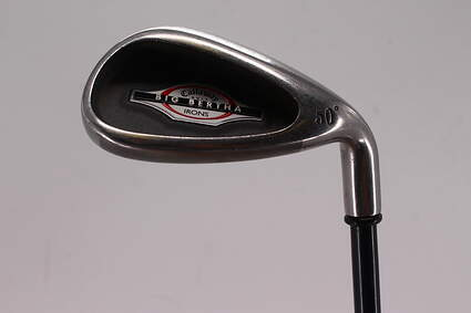 Callaway 2002 Big Bertha Wedge Gap GW 50° Callaway RCH 75i Graphite Stiff Right Handed 35.5in
