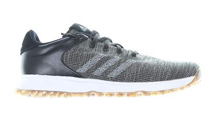 New Mens Golf Shoe Adidas S2G Medium 10 Black MSRP $100 EF0689