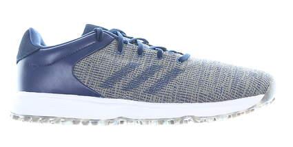 New Mens Golf Shoe Adidas S2G Medium 9.5 Tecind Blue MSRP $100 EF0691
