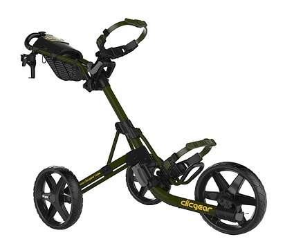 Brand New Clicgear Model 4.0 Golf Push and Pull Cart Army Green