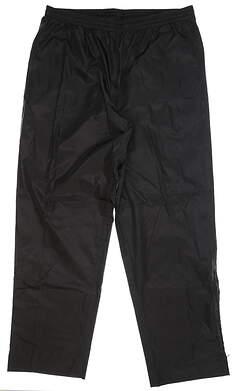 New Mens Sun Mountain Cirrus Rain Pants XX-Large XXL Black MSRP $50