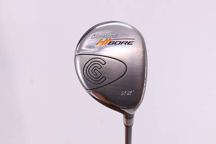 Cleveland Hibore Fairway Wood 7 Wood 7W 22° Cleveland Fujikura Fit-On Gold Graphite Regular Right Handed 42.75in