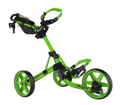 Brand New Clicgear Model 4.0 Push and Pull Cart Lime